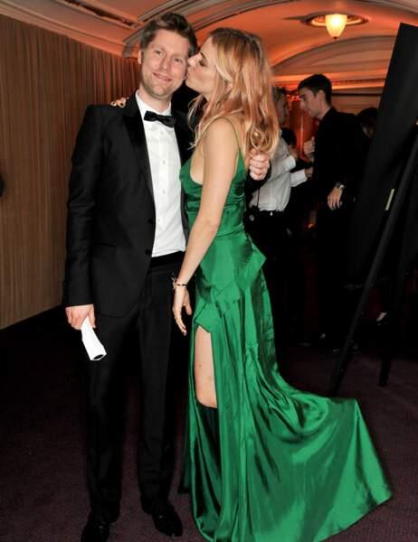 Sienna Miller et Christopher Bailey (Burberry)