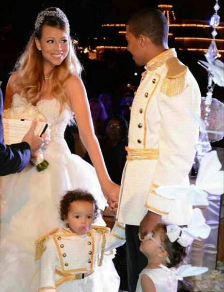 Mariah Carey, Nick Cannon, Moroccan et Monroe