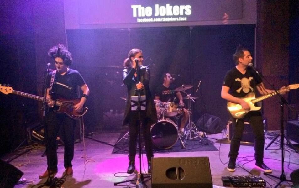 Hier soir, elle était à Lyon pour un concert avec son groupe, les Jokers