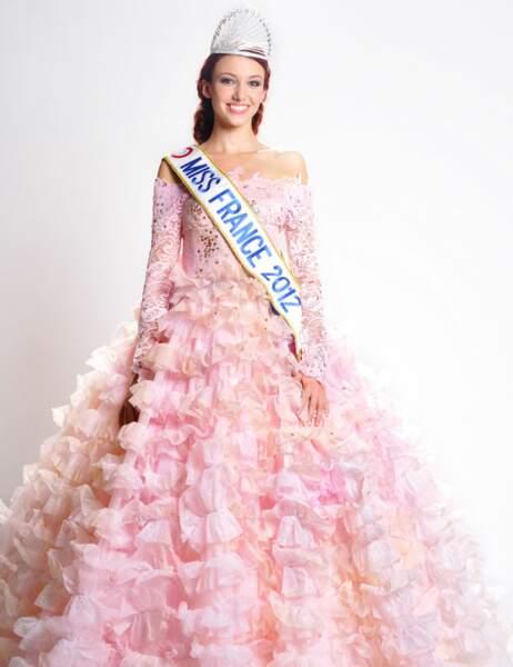 Miss France 2012: Delphine Wespiser