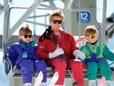 Prince William : ses plus belles photos de vacances au ski avec Harry, Diana et Charles