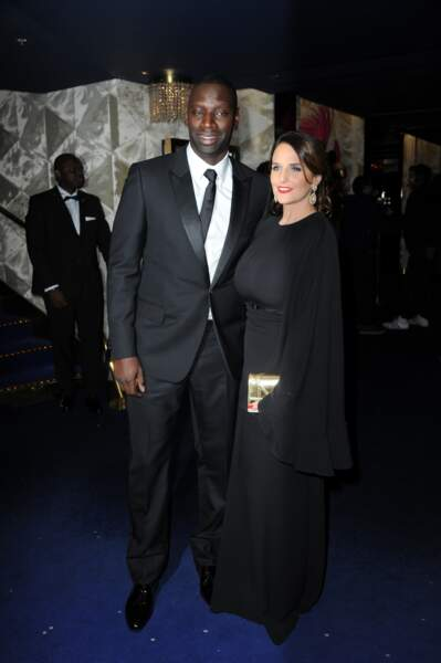 Globes de cristal 2017 : Omar Sy et son épouse Hélène