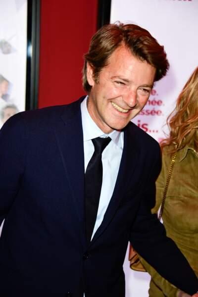 François Baroin à l'avant-première du film Brillantissime, Paris