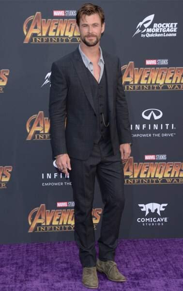 Première mondiale d'Avengers: Infinity War - Chris Hemsworth