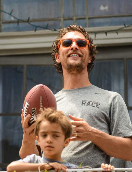 Matthew McConaughey et son fiston
