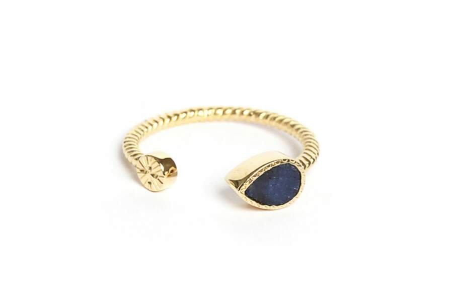 Bague Bali - Saphir, Be Maad, 55 euros