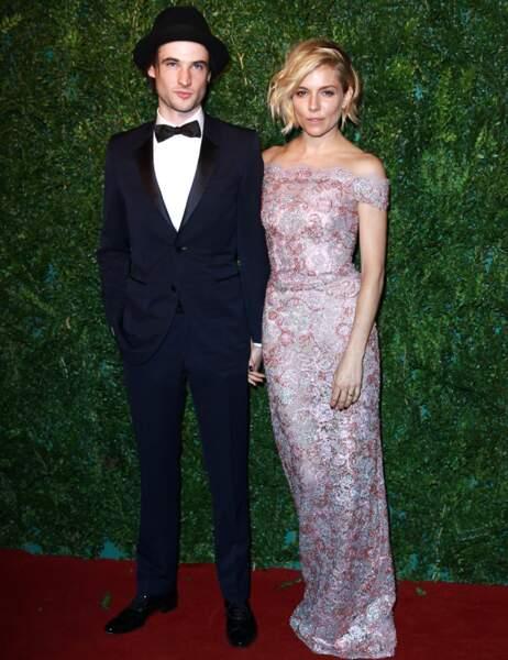 Sienna Miller et son mari Tom Sturridge