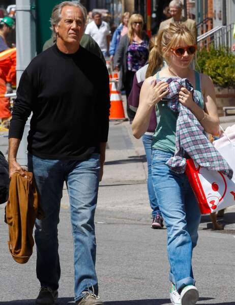 Sienna Miller et son papa
