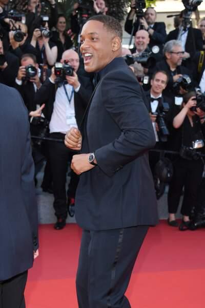 Cannes - Montée des Marches pour le 70ème anniversaire : Will Smith