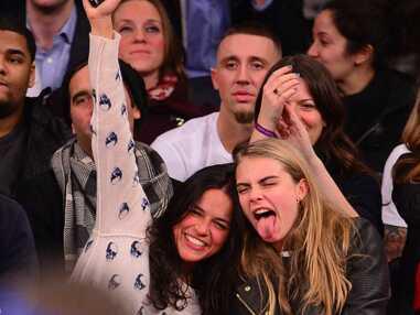 Cara Delevingne et Michelle Rodriguez : l'ivresse du sport