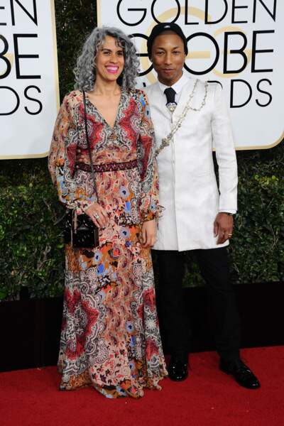 Golden Globes 2017 : Pharrell Williams