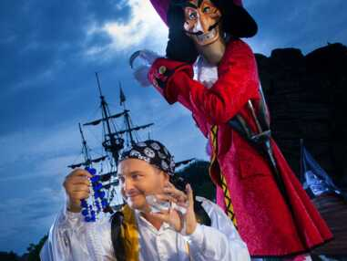 Nagui, Nolwenn, Lio... jouent à se faire peur à Disneyland