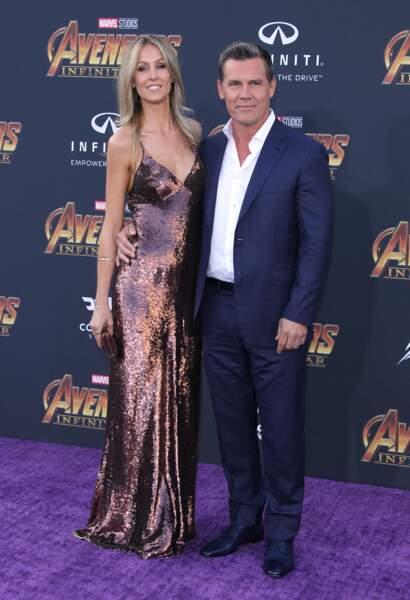 Première mondiale d'Avengers: Infinity War - Kathryn Boyd et Josh Brolin