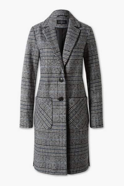Manteau à carreaux, C&A, 60€