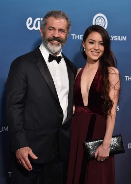 Mel Gibson et sa compagne Rosalind Ross