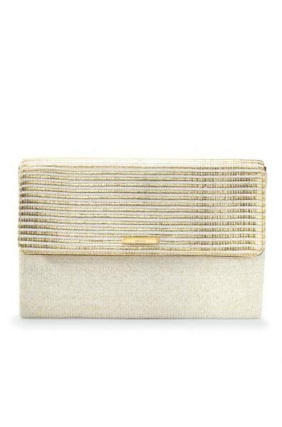 Stella and Dot pochdette city Slim rayures dorées 49,00€