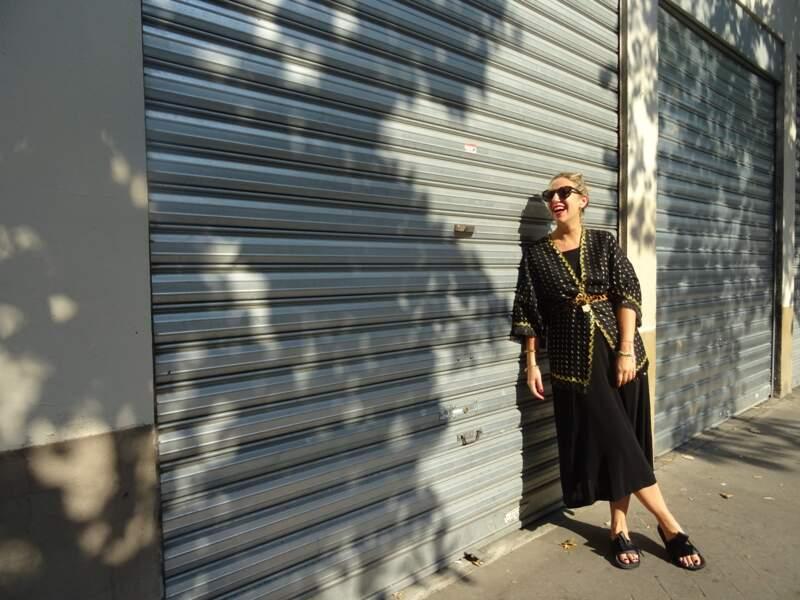 Porter le kimono : pour un vernissage