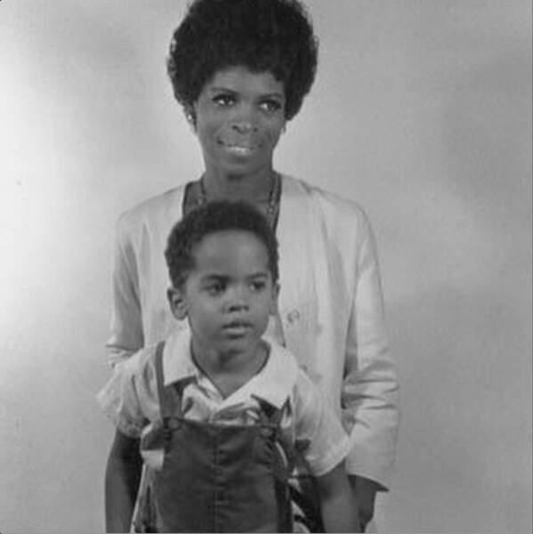 Lenny Kravitz et sa mère