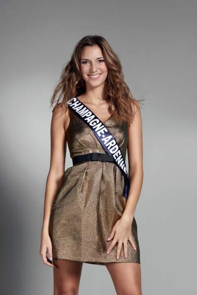 Miss Champagne-Ardenne : Charlotte Patat – 19 ans
