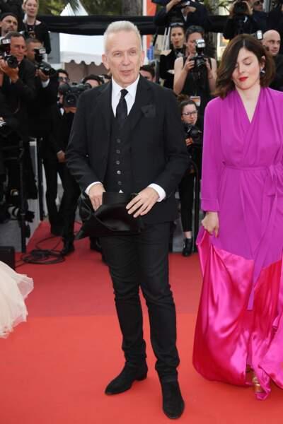 Cannes - Montée des Marches pour le 70ème anniversaire : Jean-Paul Gaultier