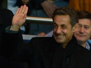 Nicolas Sarkozy en famille et de nombreux people au match PSG Nice