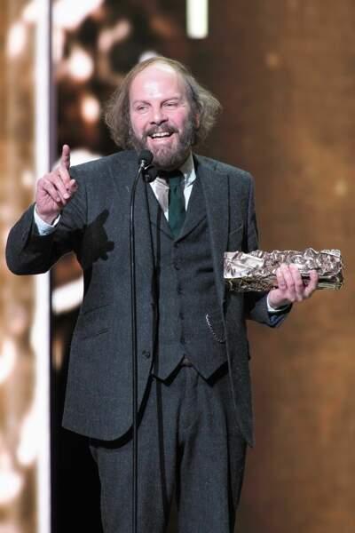 Récompensé par le César du Meilleur acteur dans un second rôle, Philippe Katerine a livré un discours très touchant