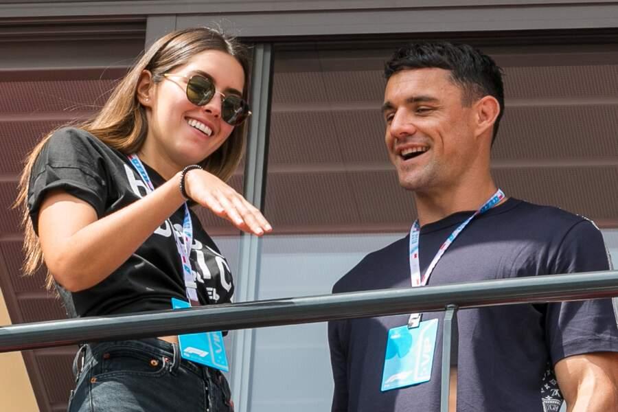 Paulina Vega et Dan Carter
