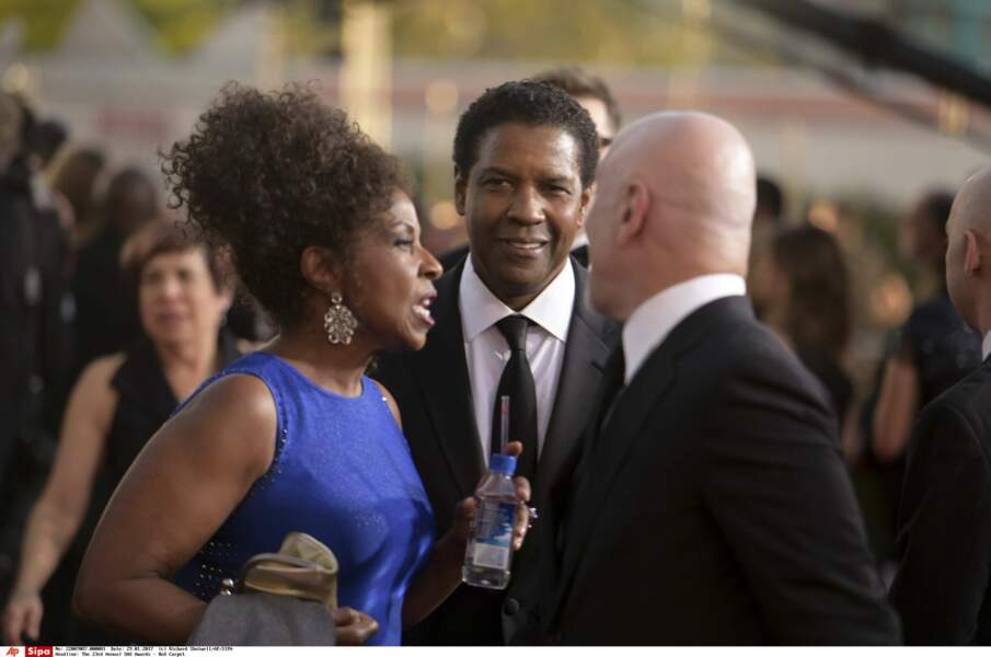 SAG Awards 2017 : Denzel Washington et Pauletta Washington