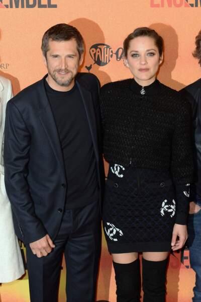 Le réalisateur Guillaume Canet et l'actrice Marion Cotillard inséparables depuis 2007