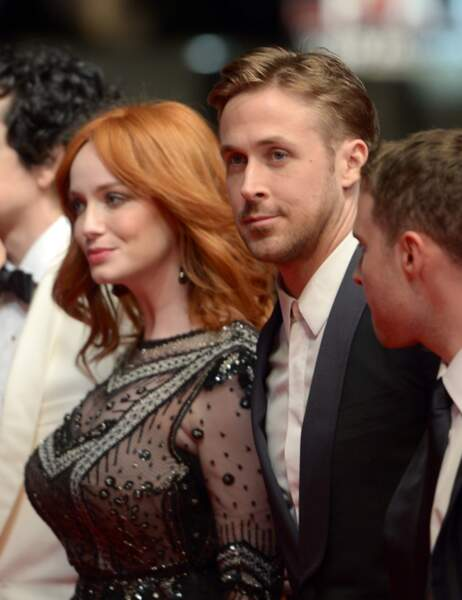 Christina Hendricks et Ryan Gosling