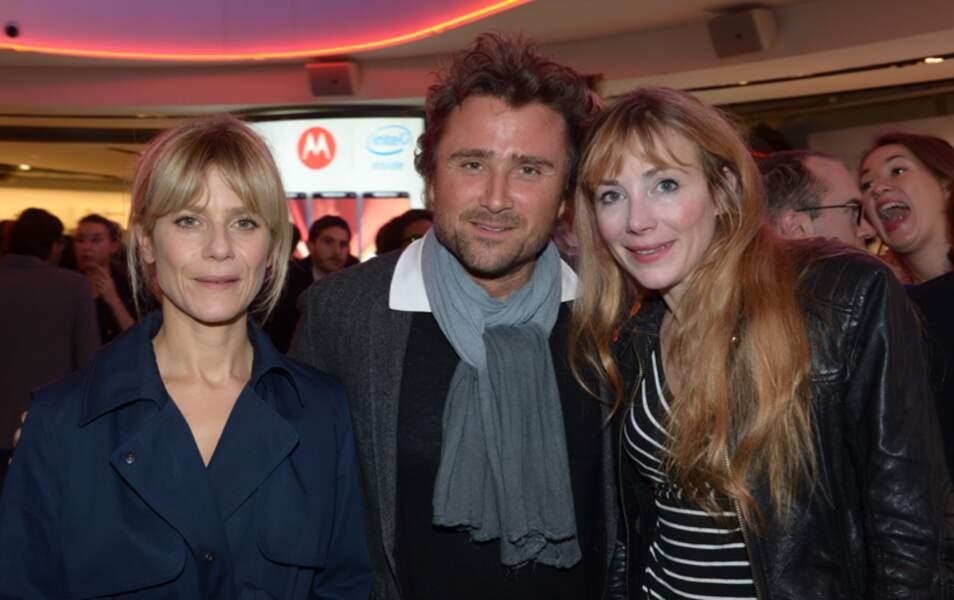 Marina Foïs, Alexandre Brasseur et Julie Depardieu