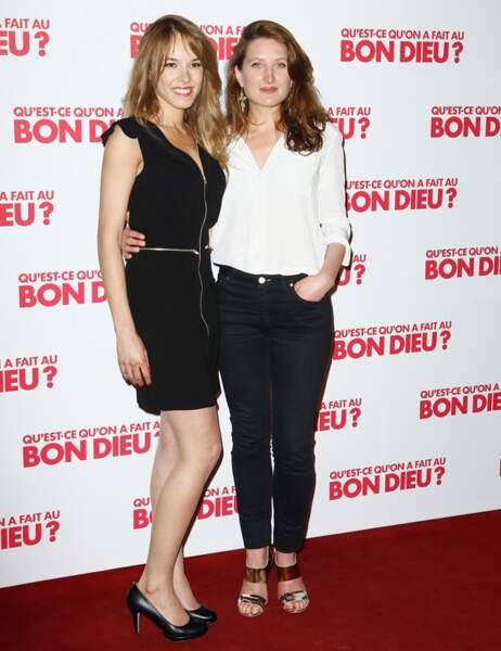 Elodie Fontan et Julia Piaton