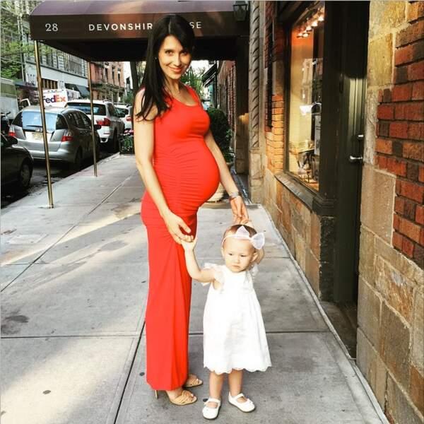 La compagne d'Alec Baldwin et leur fille