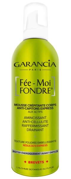 Mousse crépitante corps Fée-Moi Fondre. 400 ml, 35,99 €, Garancia