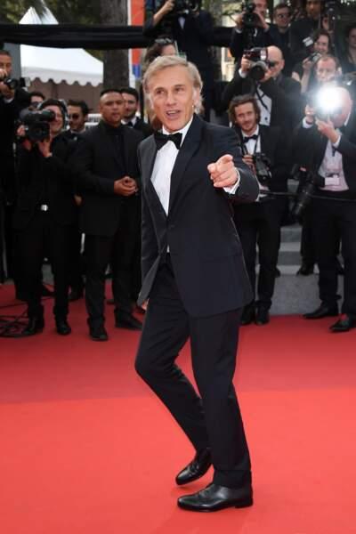 Cannes - Montée des Marches pour le 70ème anniversaire : Christoph Waltz
