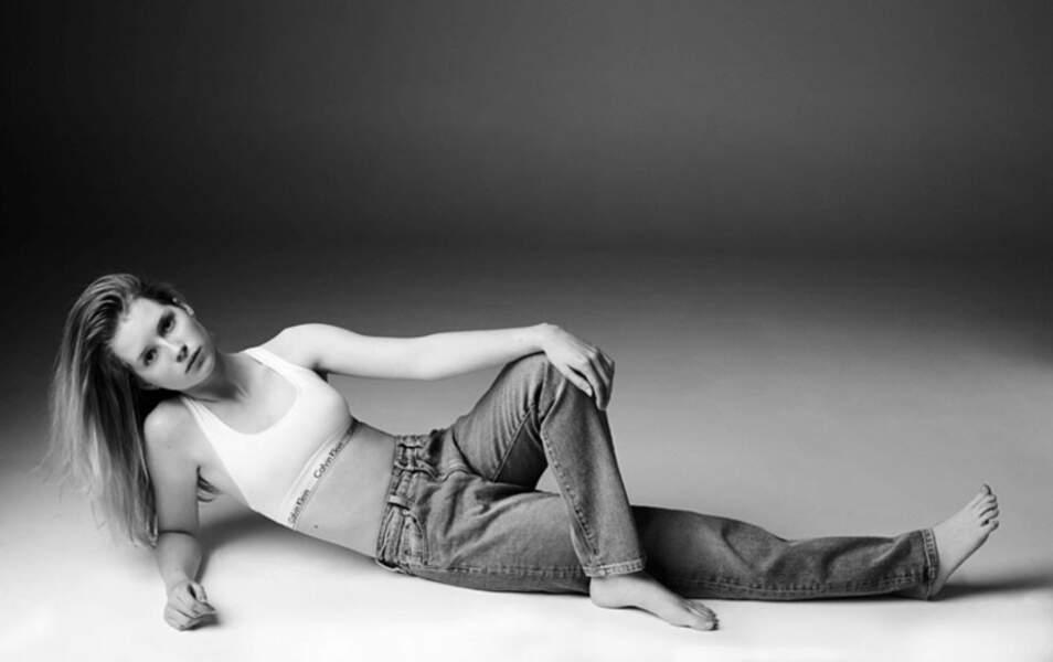 Charlotte, surnommée Lottie, a fait ses premiers pas de mannequin pour Calvin Klein