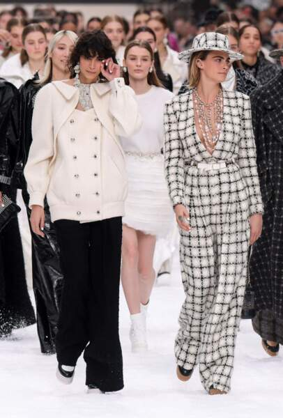 Défilé Chanel automne-hiver 2019-2020 pour un dernier hommage à Karl Lagerfeld