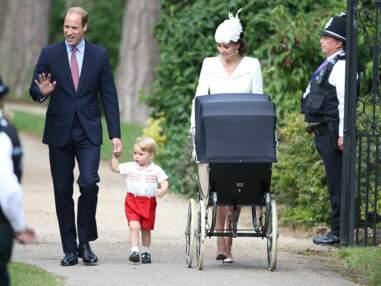 La princesse Charlotte d'Angleterre a été baptisée
