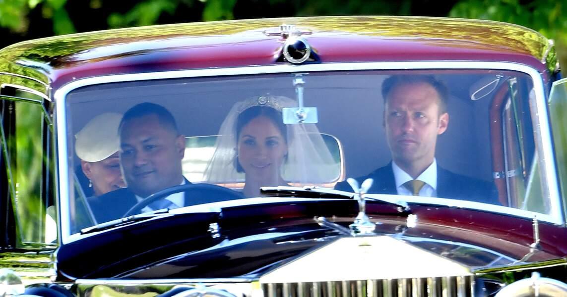 Royal wedding : l'arrivée de Meghan Markle avec sa mère, Doria Ragland
