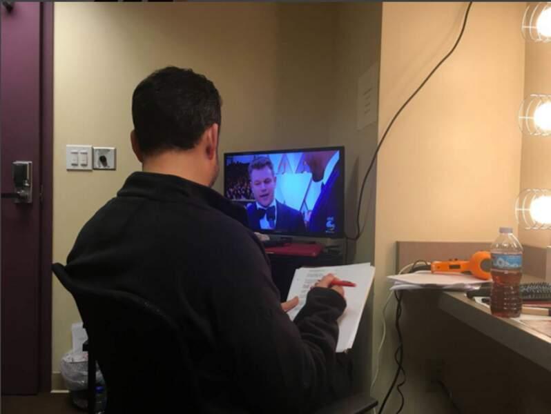 Jimmy Kimmel a prévu d'embêter Matt Damon jusqu'au bout