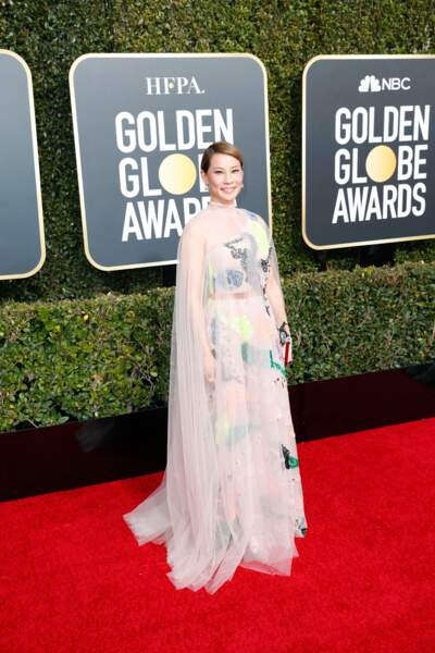 76ème cérémonie des Golden Globes : Lucy Liu