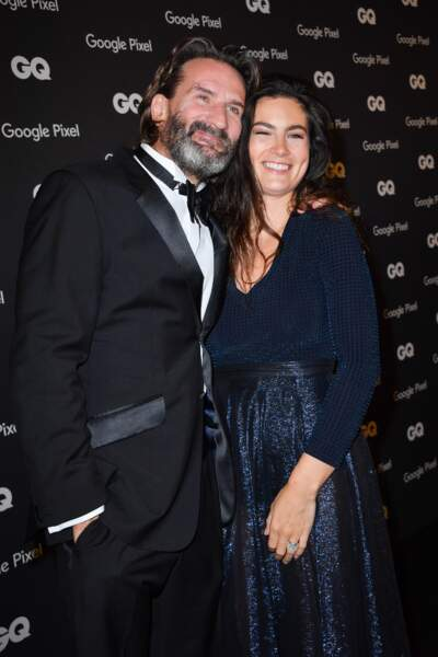 GQ Men Of The Year Awards 2018 : Frédéric Beigbeder et Lara Micheli