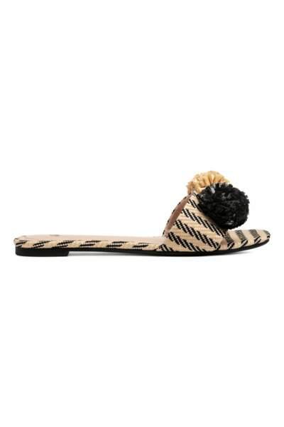 Sandales façon mules, H&M, 9,99 euros au lieu de 19,99 euros