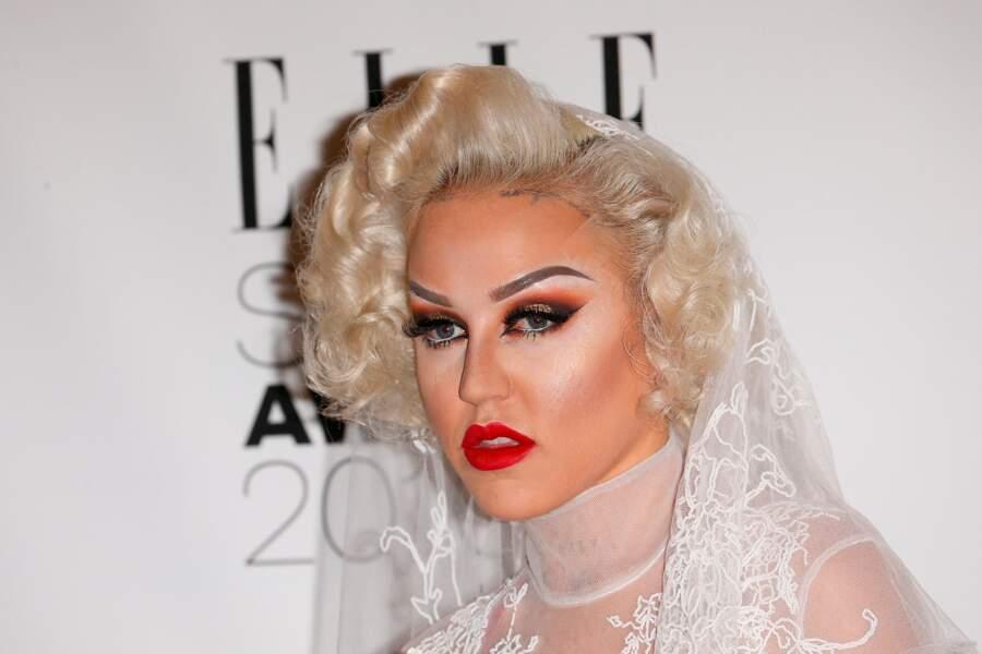 En voyant Brooke Candy, vous vous dites que son maquillage là, c'est pas possible