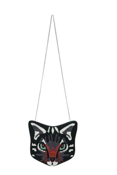 Sac chat. Brodé de perles, 75 €, Fragonard
