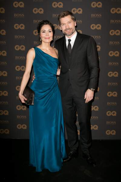 Nikolaj Coster-Walda, star internationale de l'année, et sa femme Nukaaka