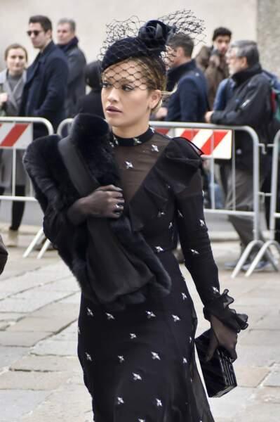 Messe hommage à Franca Sozzani : Rita Ora