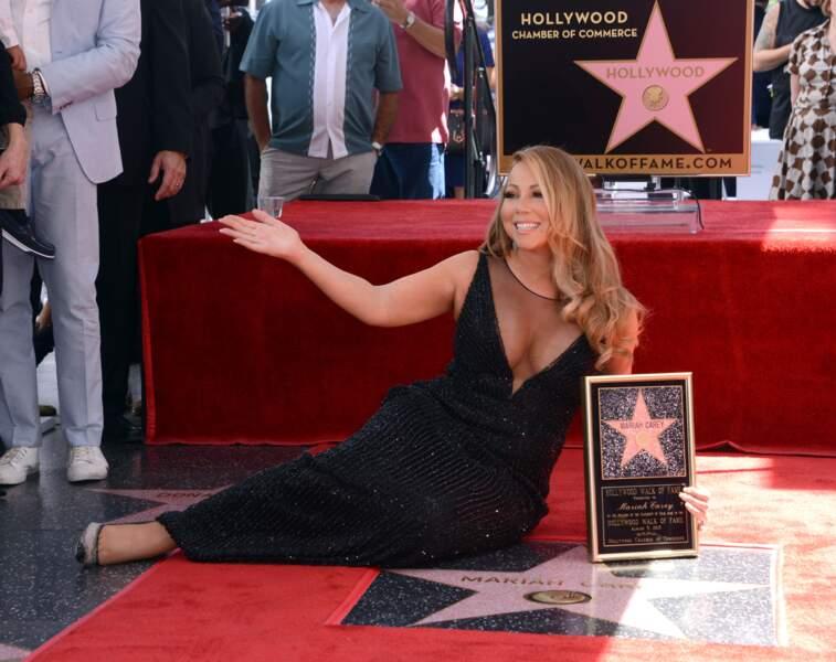 Mariah Carey a tout de même eu 14 secondes de tranquillité.