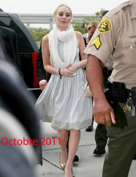 Lindsay Lohan octobre 2011