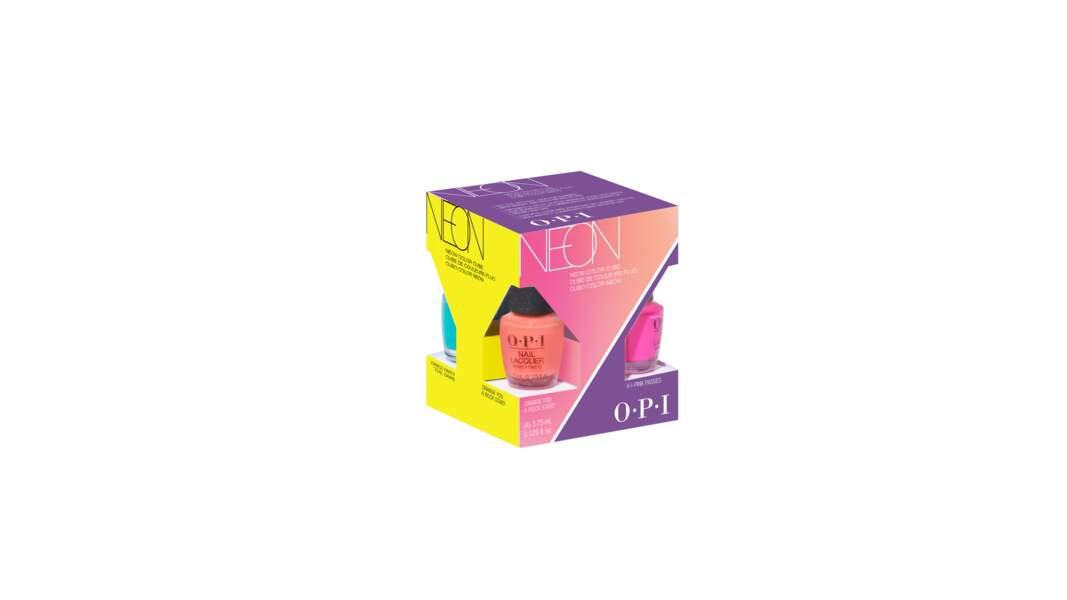 Mini kit 4 vernis. OPI, 20 €
